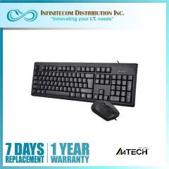 A4tech KRS-8372 PS2 Combo Keyboard & Mouse