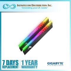16GB Gigabyte Aorus GP-AR36C18S8K2HU416RD-BOX (2x16GB) 3600mhz RGB Memory Module W/ Demo Kit