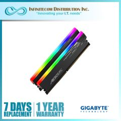 16GB Gigabyte Aorus GP-AR516G44-BOX RGB 16GB (2x8GB) DDR4 4400mhz Memory