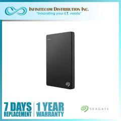 1TB Seagate Backup Plus Slim USB3 Black STHN1000400