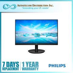 27 Philips 271V8/71 IPS 1920x1080 VGA/HDMI/VESA Mount Monitor Black