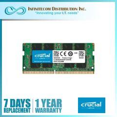 8GB Crucial DDR4 2666Mhz Sodimm Memory