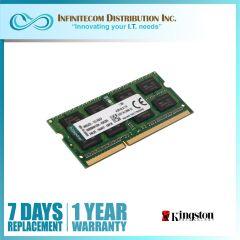 8GB Kingston DDR3-12800 KVR16LS11