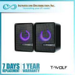Intelligent T-Wolf S3 Luminous Vibrating Film Speaker