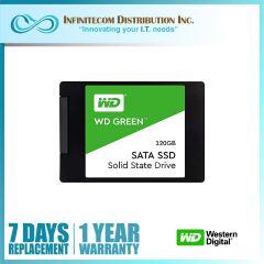 120GB WD Green 3D Nand 2.5 Sata III SSD