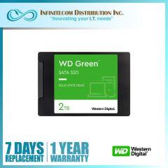 2TB WD Green 3D NAND 2.5 Sata III SSD