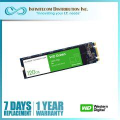 120GB WD Green 3D NAND M.2 2280 Sata SSD