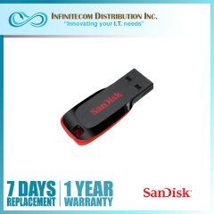 64GB Sandisk CZ50 Cruzer Blade 2.0 Flashdrive
