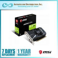 2GB MSI Geforce GT1030 Aero ITX OC VGA